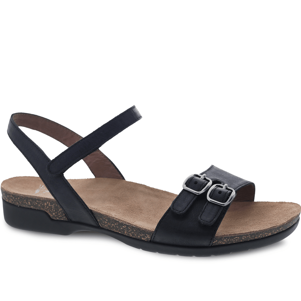 Dansko Rebekah Women's Leather Adjustable Quarter Strap Sandal Shoe