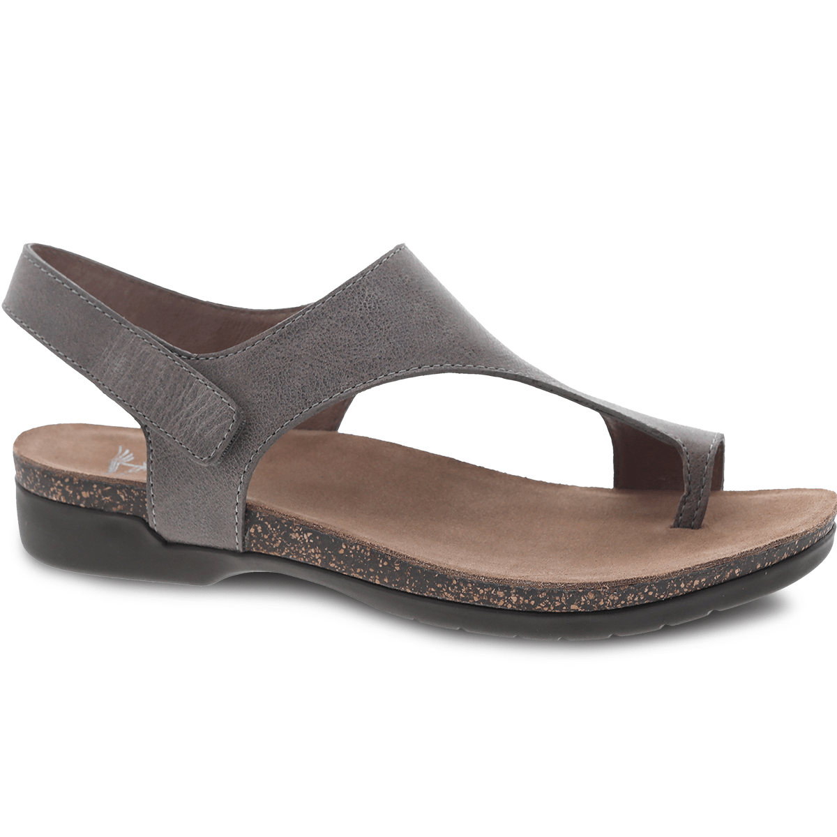 Dansko Reece Women's Leather T Strap Slingback Casual Sandal Shoe