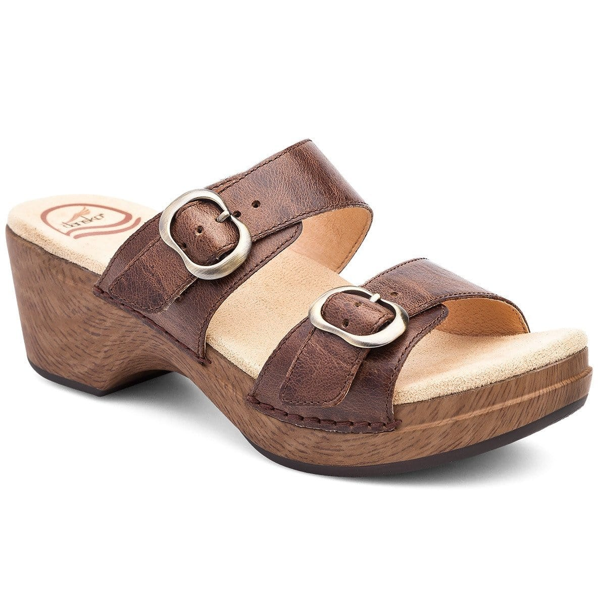 Dansko Sophie Women's Pattern Leather Strap Sandal