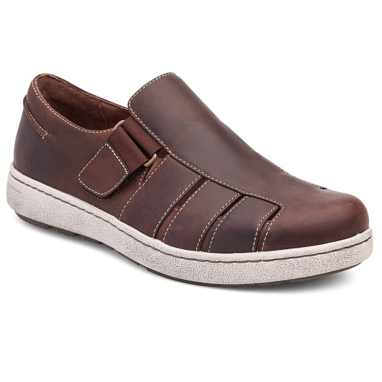 Dansko Men's Vince Leather Boat Sandal Shoe