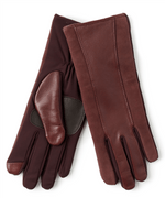 Echo Design Women's Leather Stripe Super Fit Glove (EG0052)