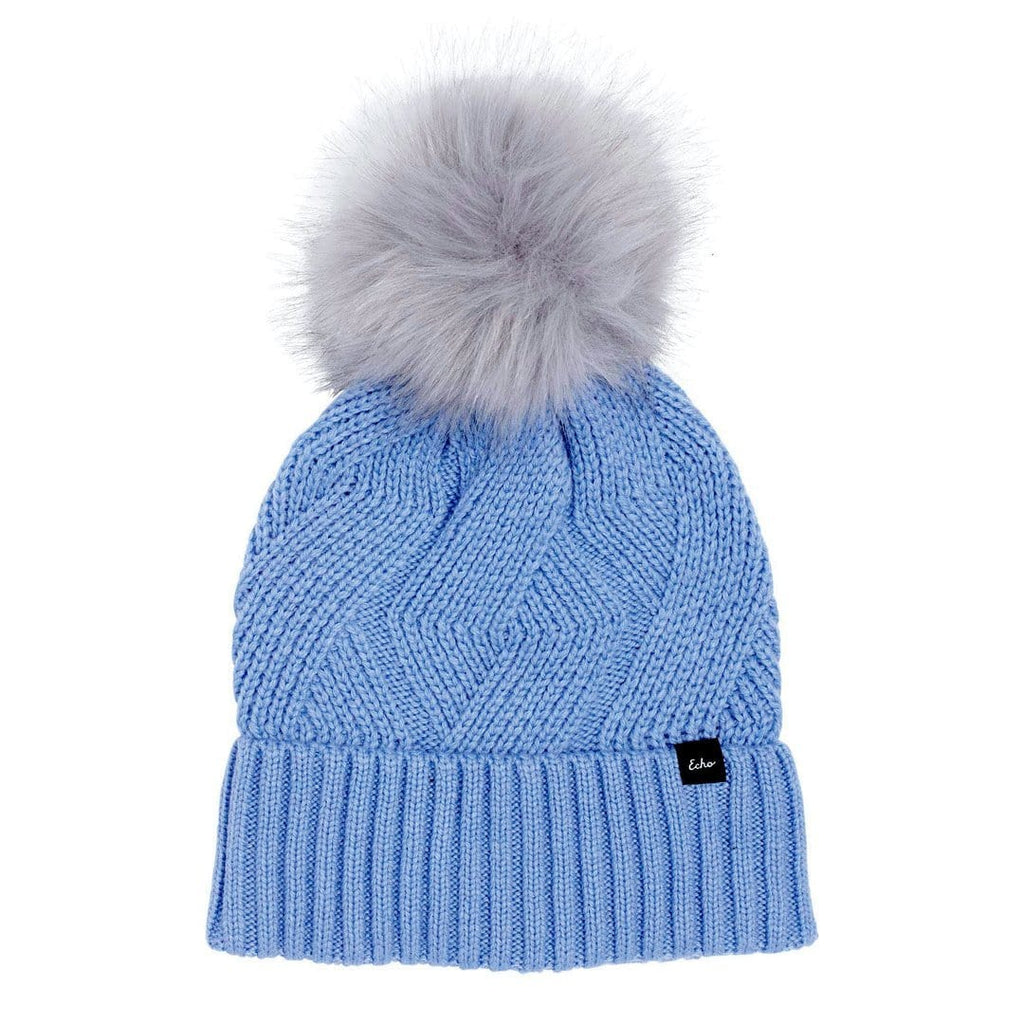 Echo Recycled Cable Knit Women's Set Hat and Scarf | Simons Shoes