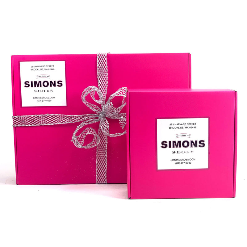 Simons Shoes Gift Box Option Free Shipping