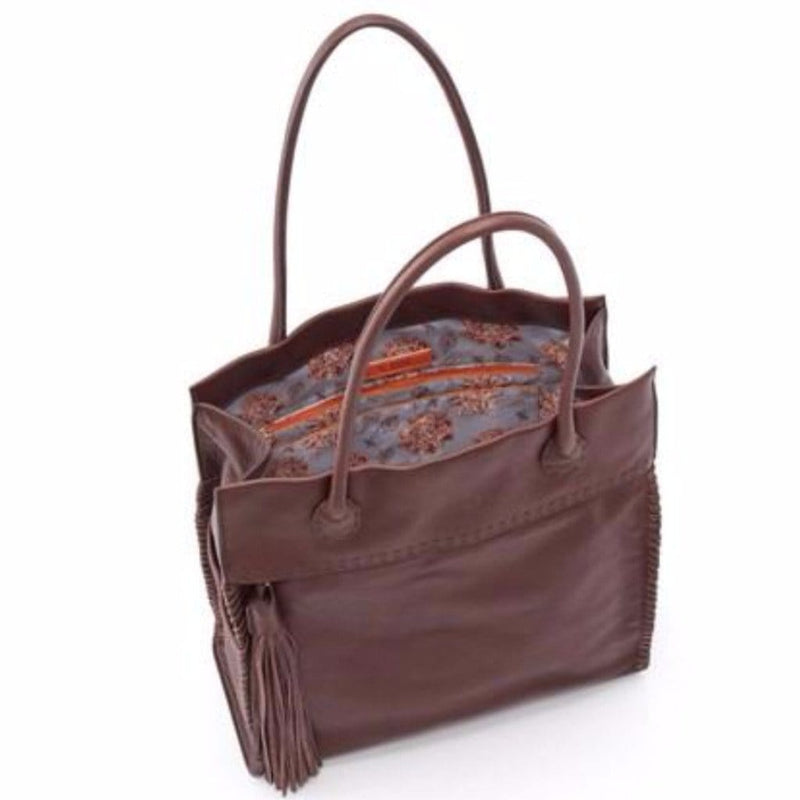 Hobo Women's Lure Tote (SO-82222) Velvet Leather Handbag