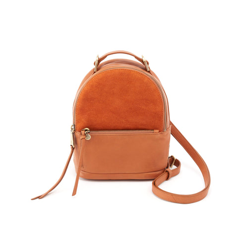 Hobo Suede Bag | Revel Convertible Crossbody Backpack (SU-35678)