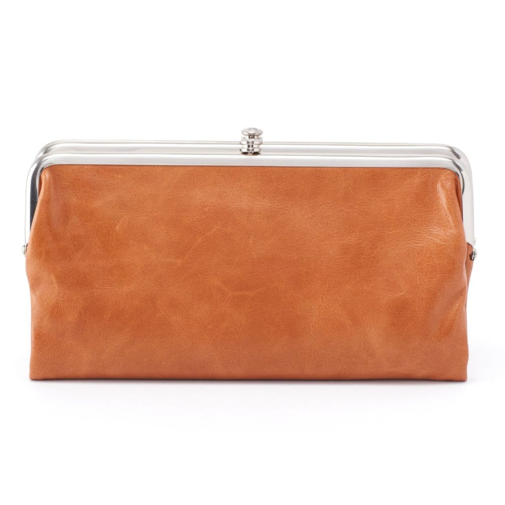Hobo Women's Lauren Vintage Leather Clutch Wallet (VI-3385)