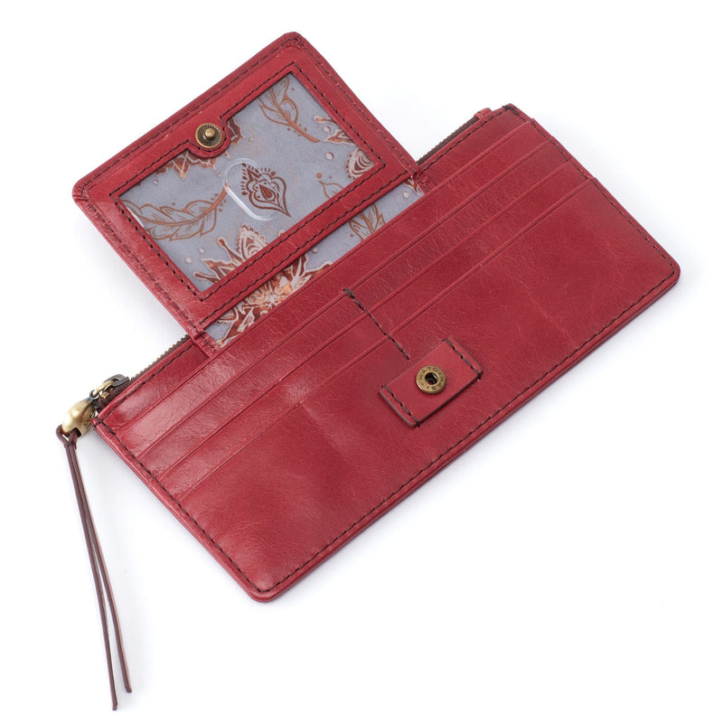 Hobo VI-32334 Amaze Vintage Leather Credit Card ID Organizer Wallet