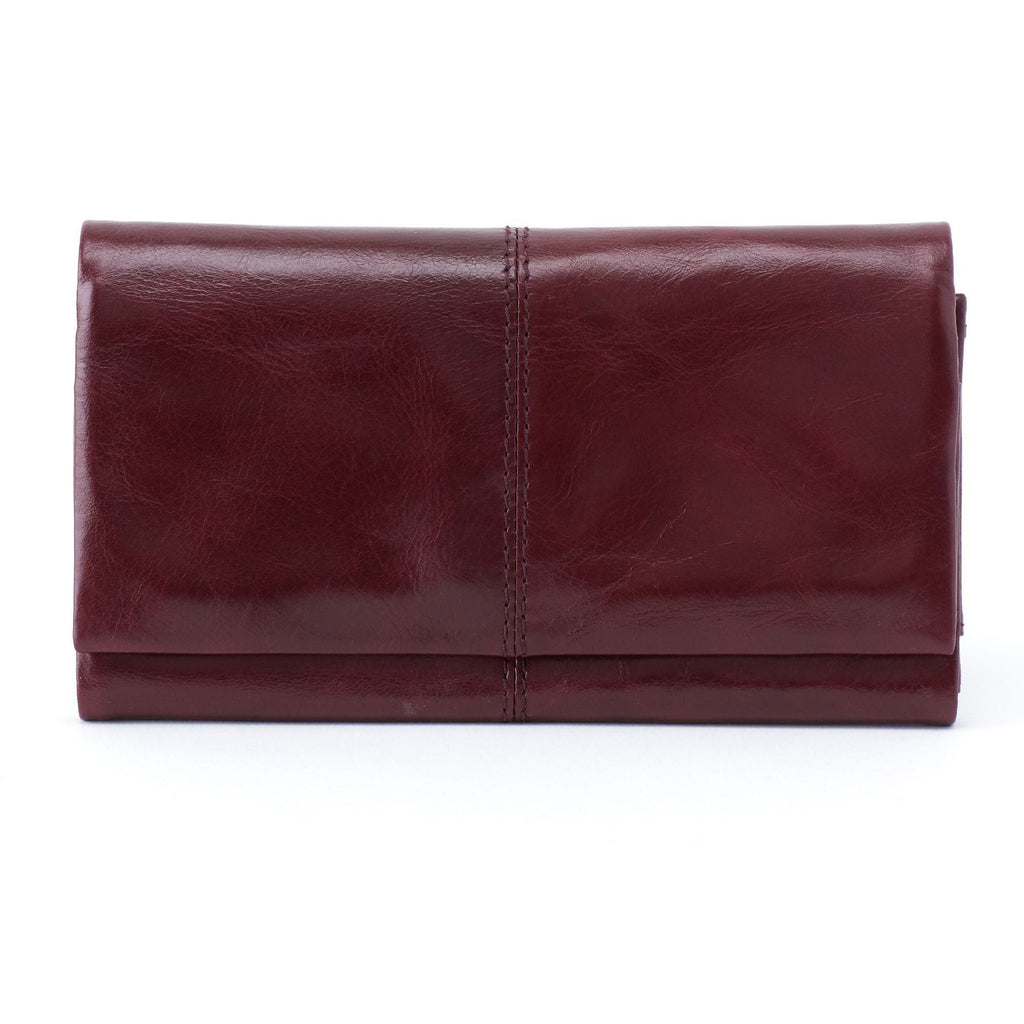 Hobo Keen Slim Leather Wallet (VI-32377) | Simons Shoes