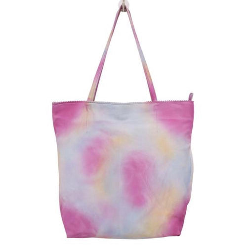 Latico Galaxy Tote | Women's Leather Tie Dye Tote | Simons Shoes
