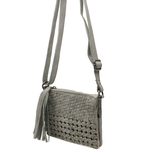Latico Leather Purse | Tal 3103 Woven Crossbody Travel Bag | Simons