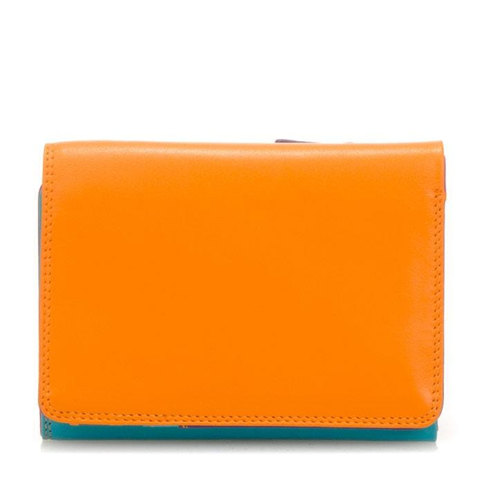 Mywalit Women's Small Trifold Colorful Leather Wallet (106)