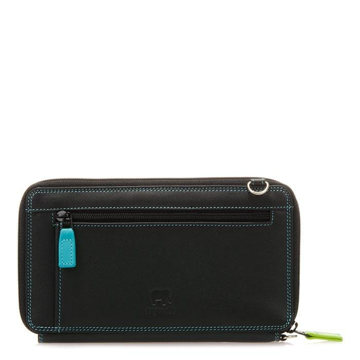 Mywalit Women's Zip Round Multi Crossbody Wallet (1220)