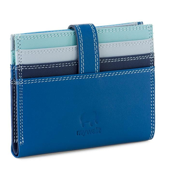 MyWalit 1222 Leather Women's Small Card Organizer Wallet