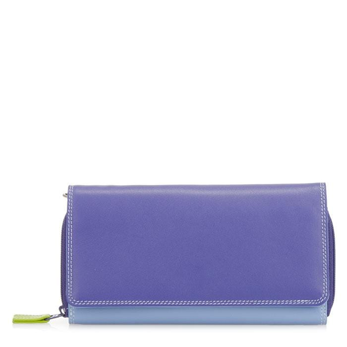 MyWalit Women's Large Flapover Zip (1226) Leather Wallet