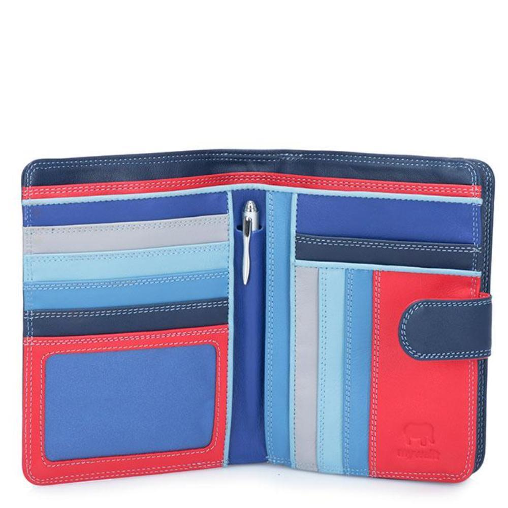 Mywalit Large Snap Wallet (229) | Colorful Leather Wallet | Simons