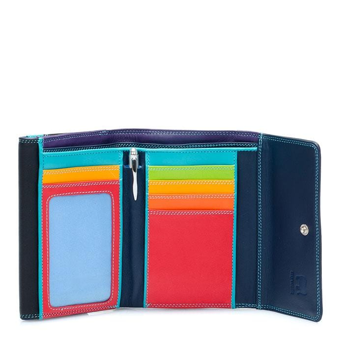 Mywalit Women's Double Flap Leather Wallet (250)