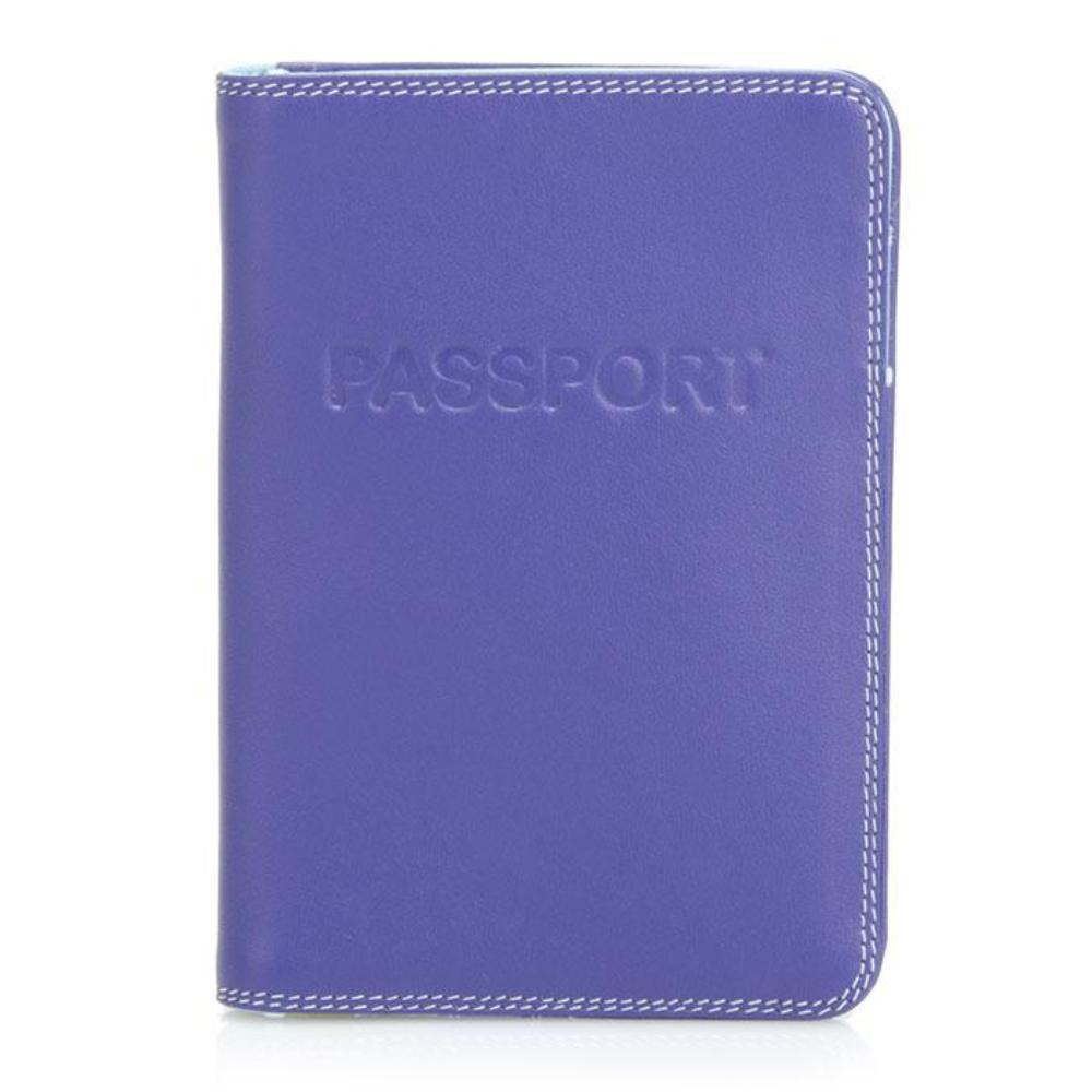 Mywalit 283 - Unisex Leather Passport Cover Small Wallet | Simons