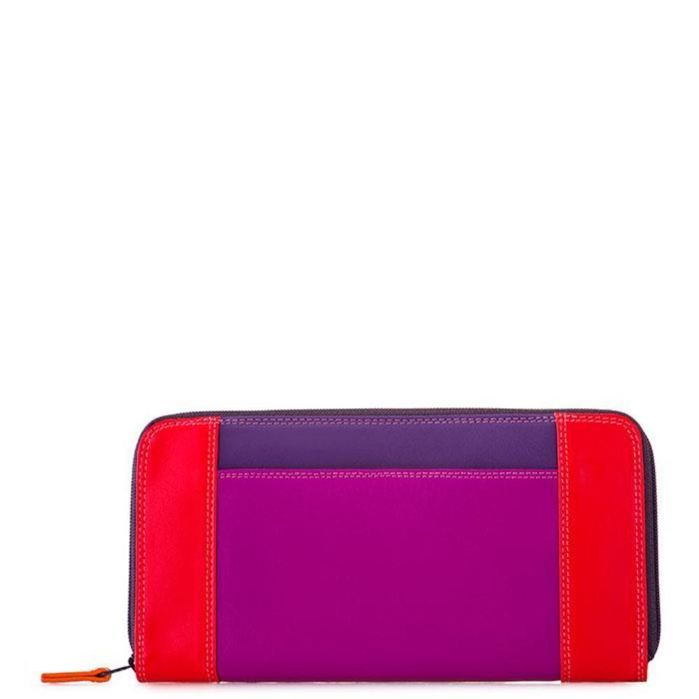 Mywalit Large Zip Colorful Leather Wallet (329) | Simons Shoes