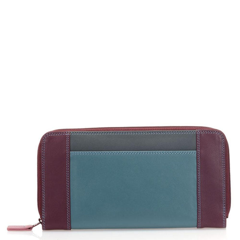 Mywalit Large Zip Leather Wallet (329)