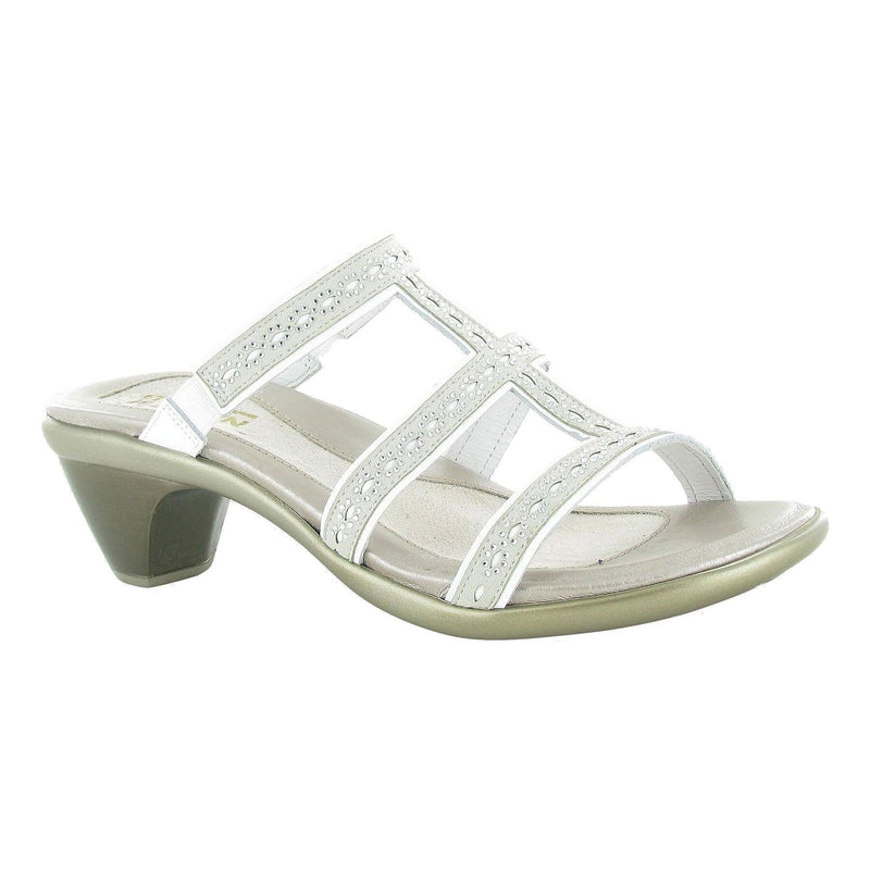 Naot Novel Women's Stone Accent Dressy Slide Sandal Beige HTA | Simons Shoes