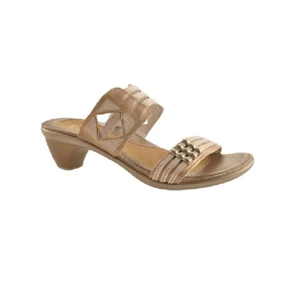 Naot Afrodita Women's Geometric Cutout Leather Strap Sandal Shoe