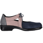 Naot Alisio | Women's Contrast Cutout Leather Vintage Shoe | Simons