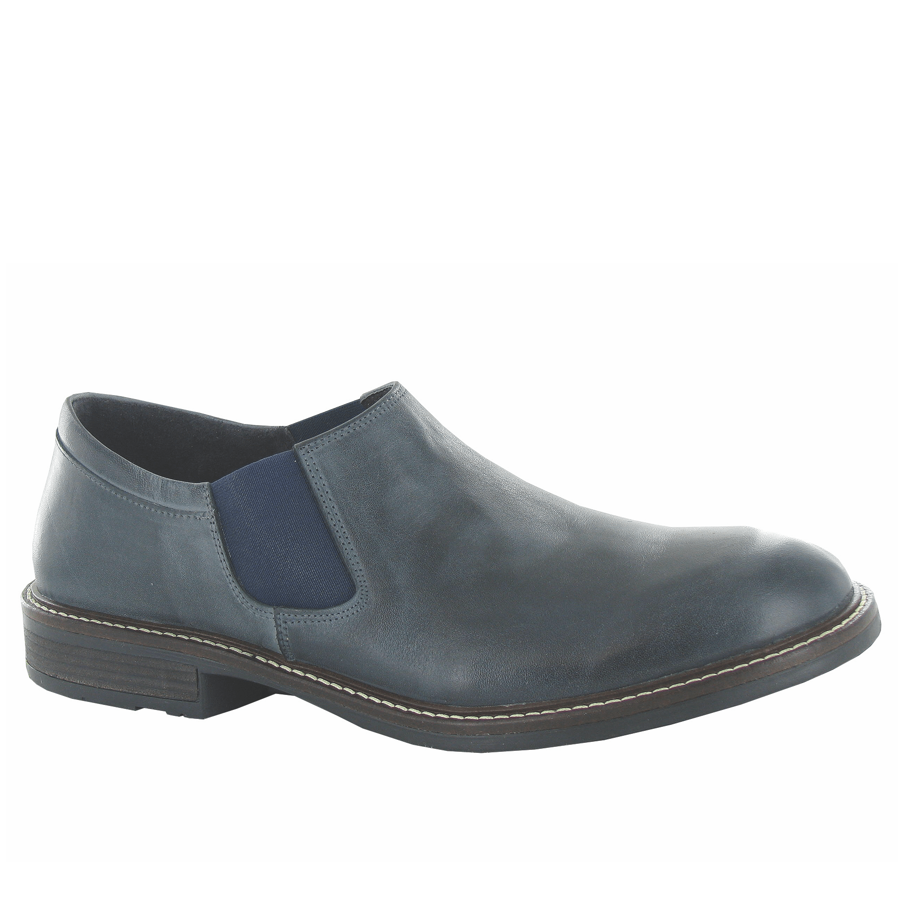 Naot Director Men's Cork Footbed Technical Lined Leather Slip-On Shoe | Simons Shoes Brookline