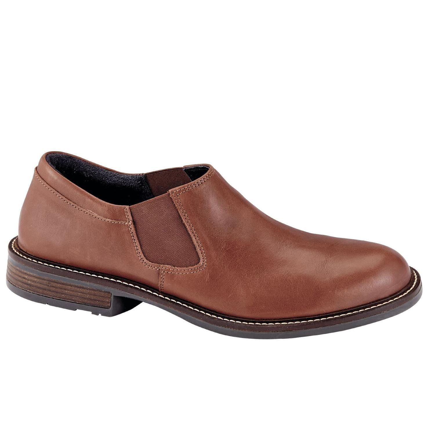 Naot Director Men's Cork Footbed Technical Lined Leather Slip-On Shoe