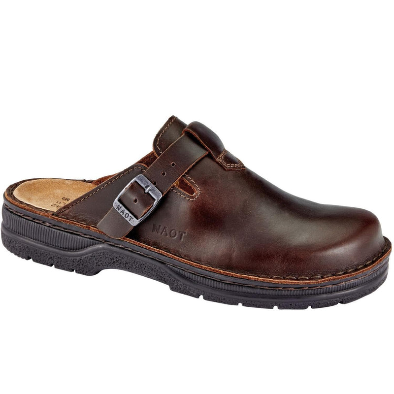Naot Men's Fiord Cork Footbed Slip Resistant Leather Clog | Simons