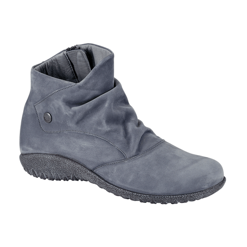 Naot Kahika | Women's Nubuck Scrunch Zip Up Casual Bootie | Simons