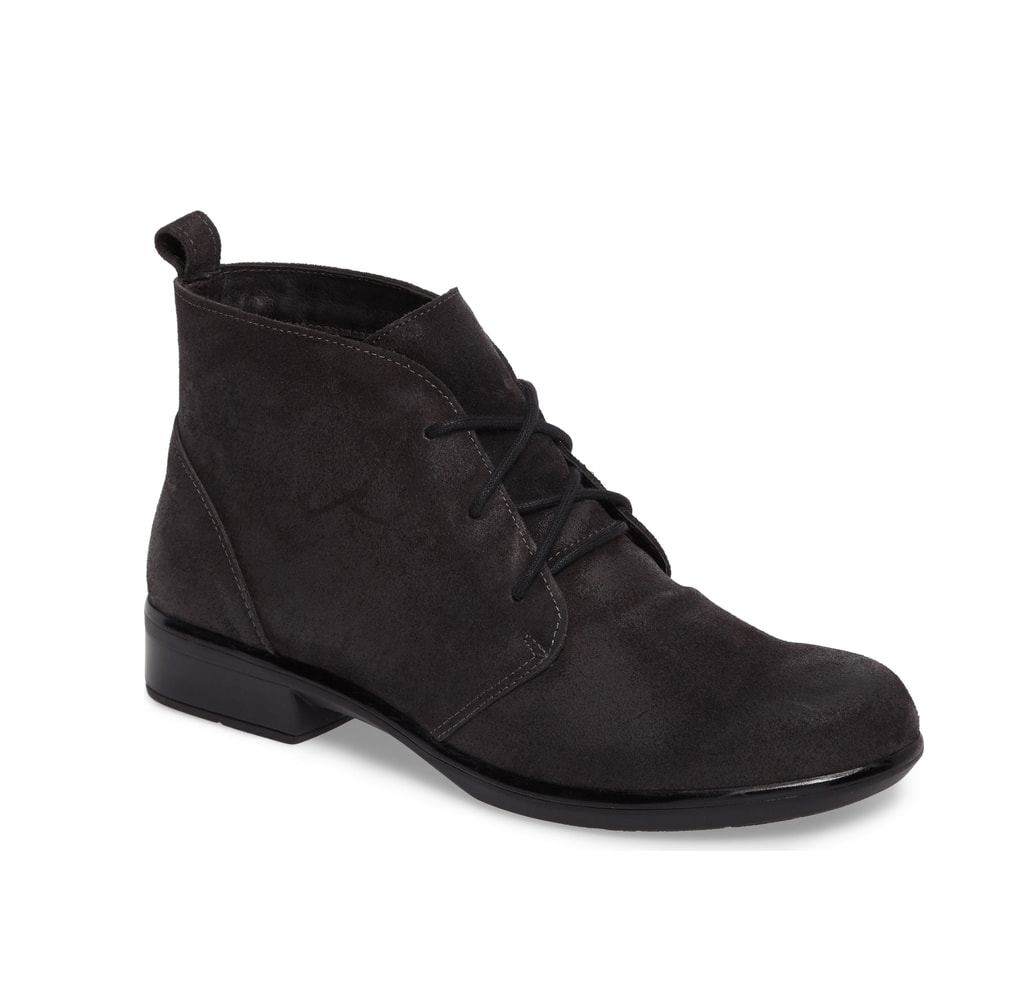 Naot Levanto | Women's Vintage Leather Lace Up Ankle Bootie | Simons
