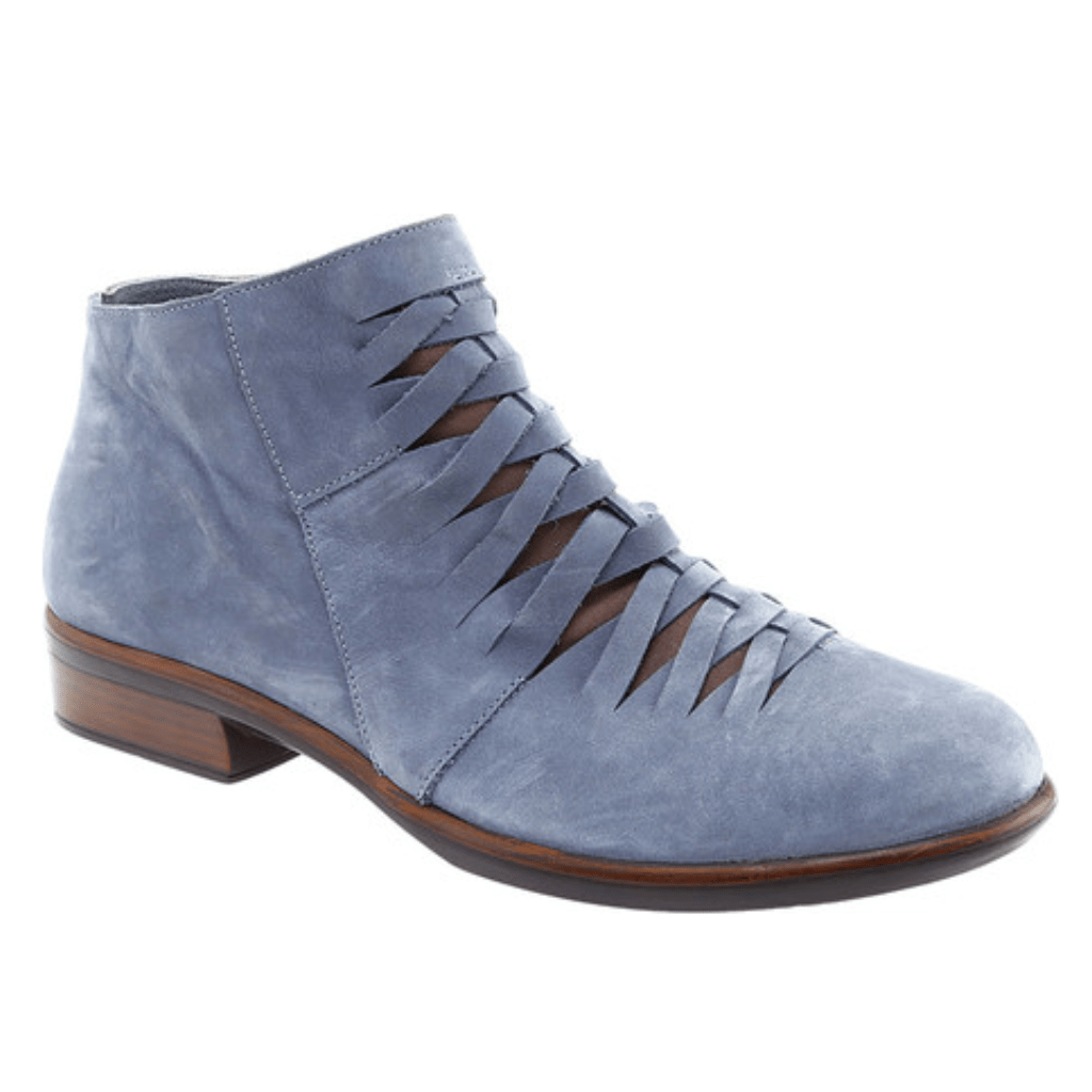 Naot Leveche | Women's Woven Contrast Leather Zip Up Bootie | Simons