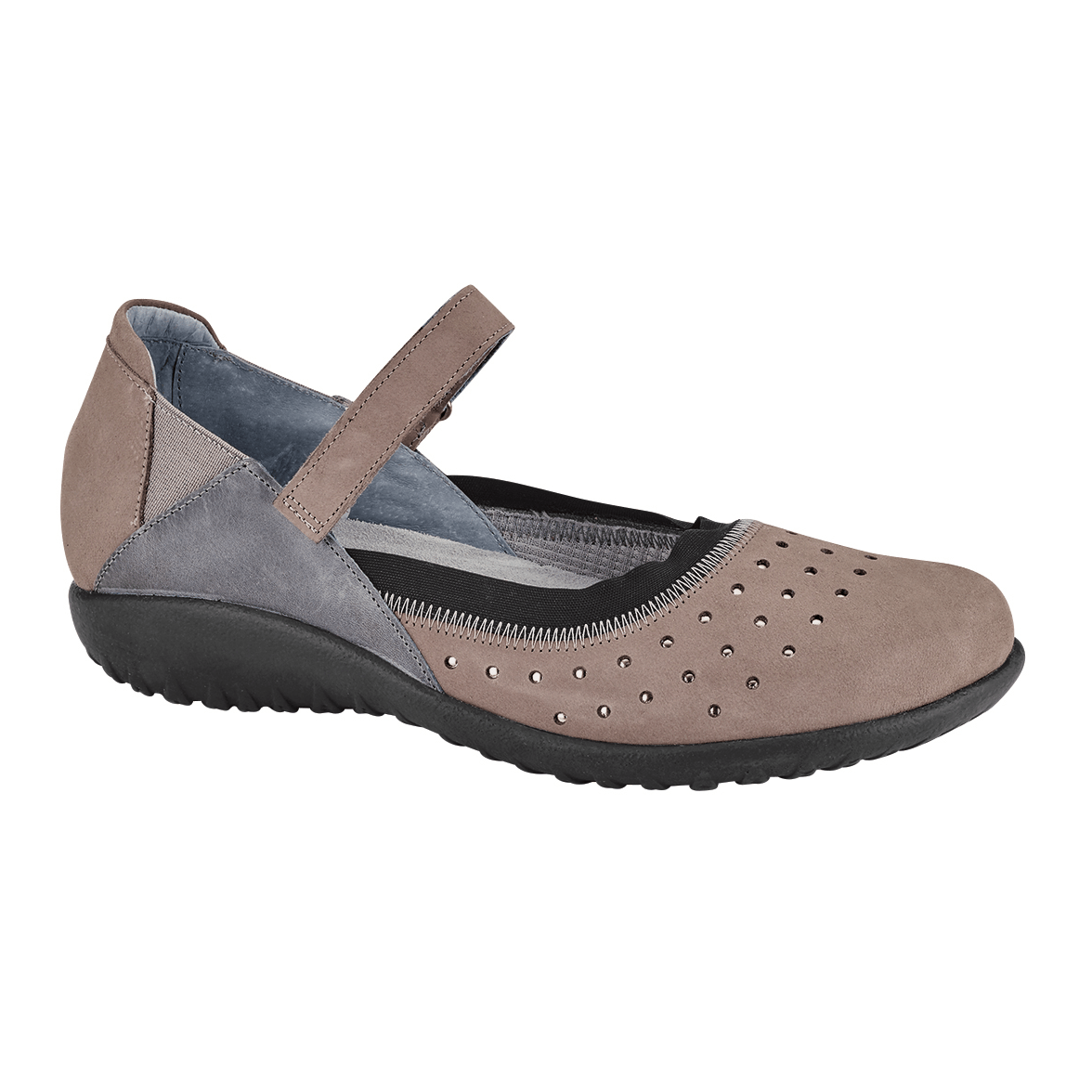 Naot Matua | Women's Casual Metallic Accented Mary Jane Flat | Simons
