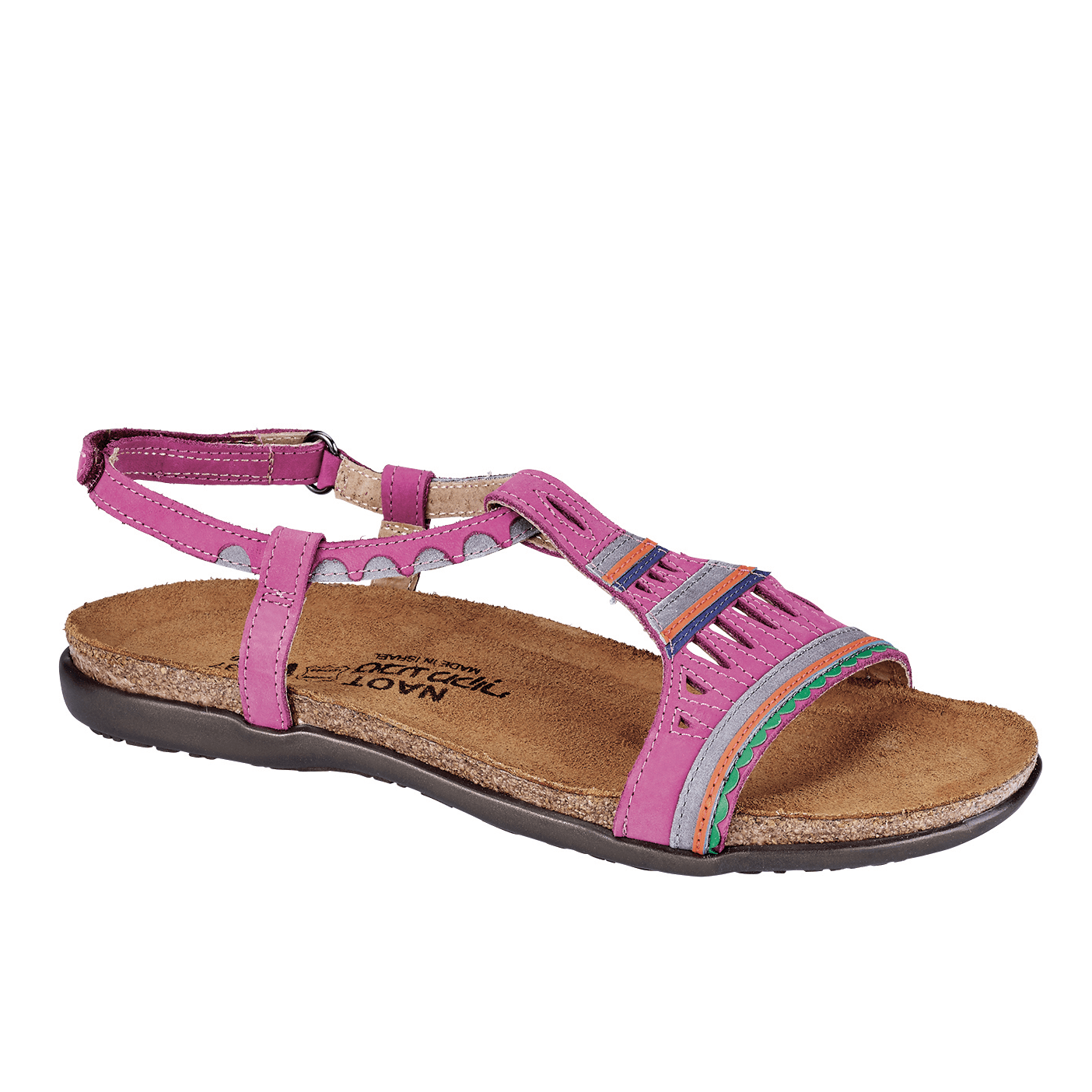 Naot Odelia Women's Leather Printed Sandal Shoe