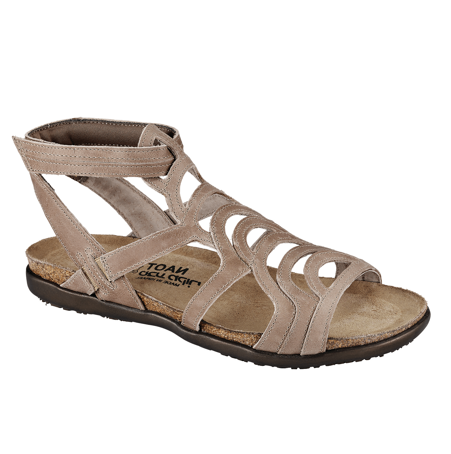 Naot Sara Women's Leather Cork Gladiator Sandal Shoe
