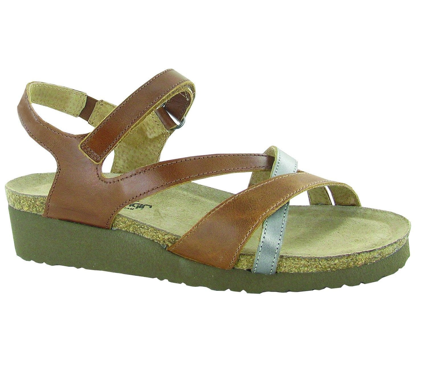 Naot Sophia Women's Crisscross strap Leather Sandal