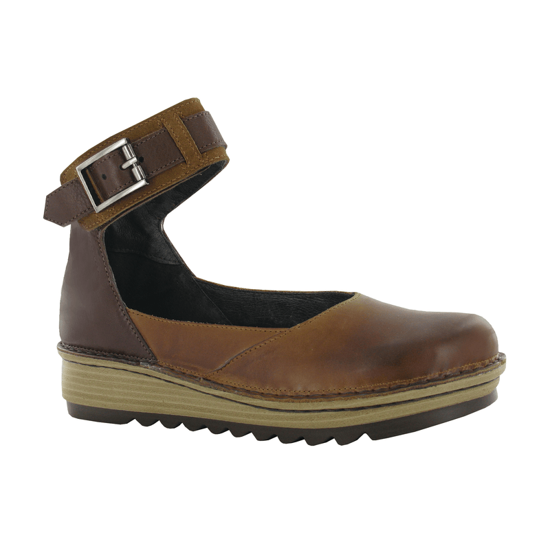 Naot Sycamore | Women's Leather Buckle Ankle Strap Comfy Flat | Simons