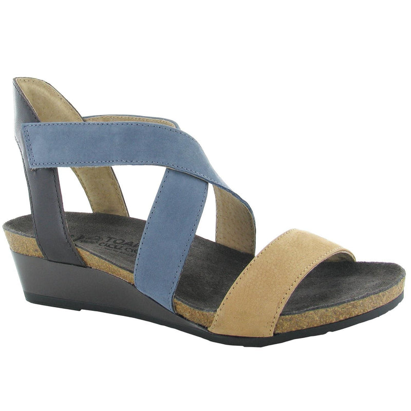 Naot Vixen | Women's Leather Crisscross Wedge Sandal | Simons Shoes