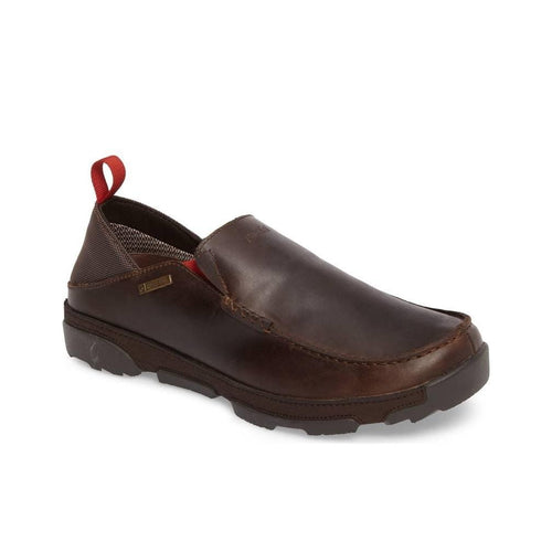 Olukai Waterproof Shoe | Na'i WP Leather Slip On | Simons Shoes