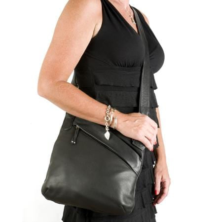 Osgoode Marley Womens Jenna Kriss Kross (7056) Leather Crossbody Purse