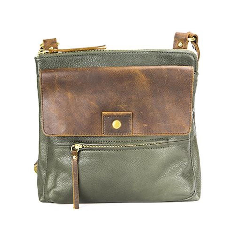 Osgoode Marley Luna Flapped Crossbody (7125) | Women's Leather Purse