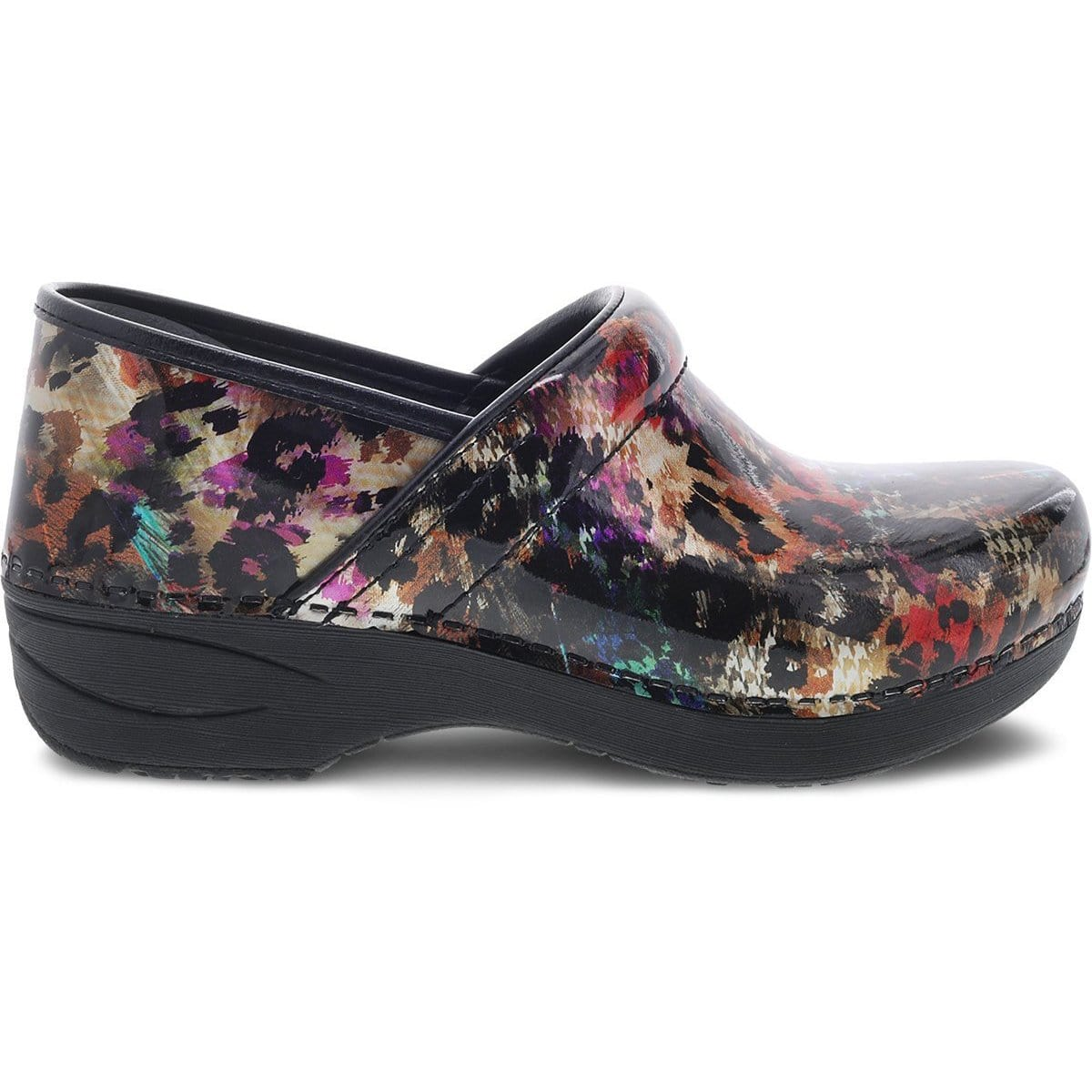XP 2.0 Multi Leopard Patent Leather Clog