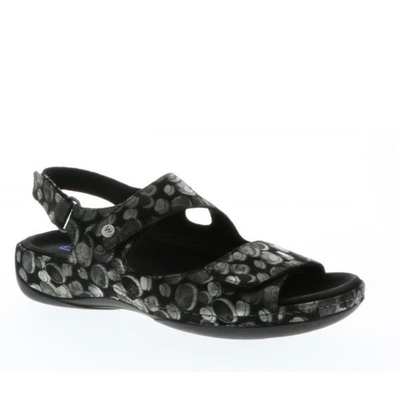 Wolky Liana 0315 | Women's Leather Three Strap Comfort Sandal | Simons