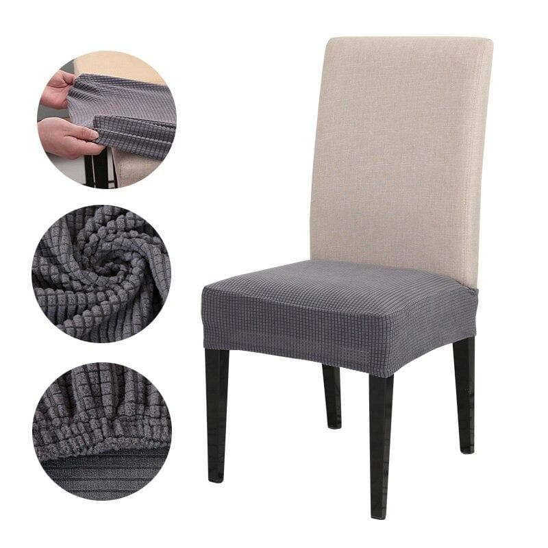 Chair Cover Elastic Half-wraped