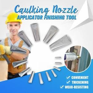 Caulking Nozzle Applicator Finishing