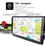 Double Din Car Multimedia player Android 9.0 GPS