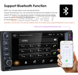 Double din Android 9.0 car multimedia player.