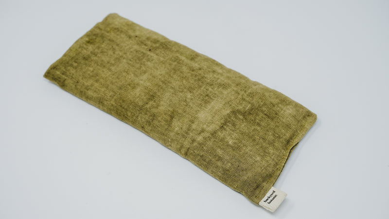 Naturally Dyed Weighted Eye Pillow: Sage