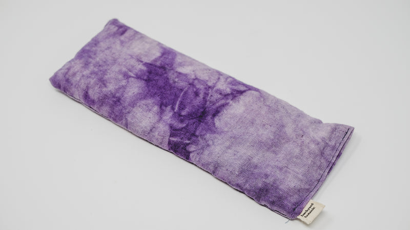 Naturally Dyed Weighted Eye Pillow: Lavender