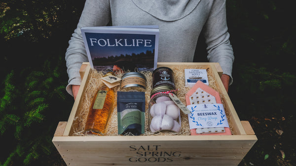 SALT SPRING SAMPLER CRATE - FULL SIZE